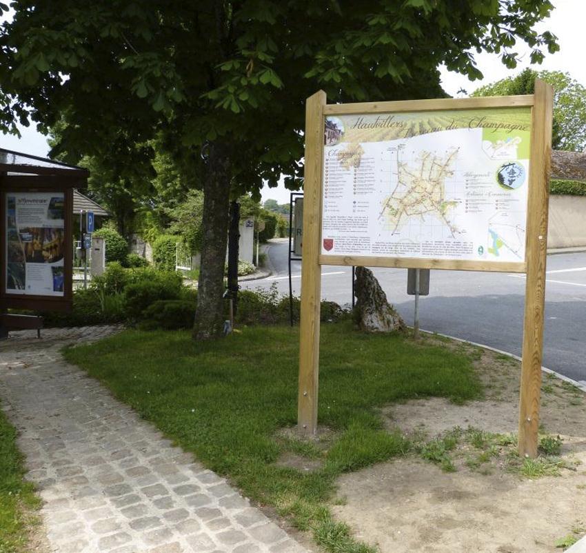 Relais information service à Hautvillers ©PNRMR