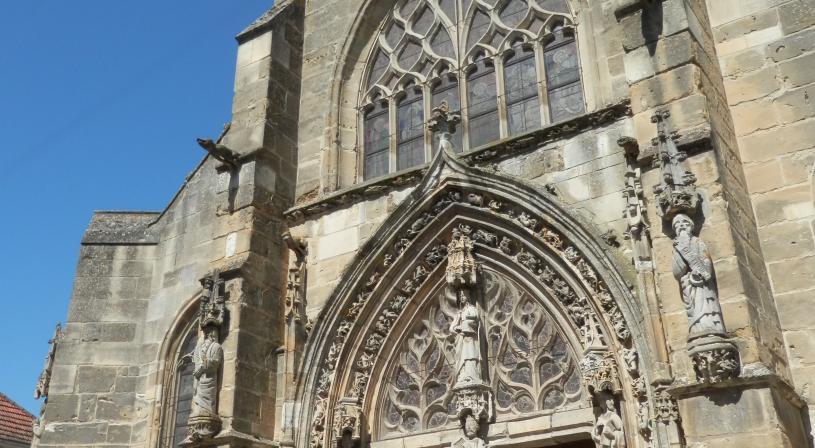 Eglise de Avenay-Val-d'Or. Coll. PNRMR