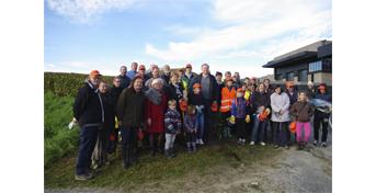 Les bénévoles de Coulommes-la-Montagne et de Vigny