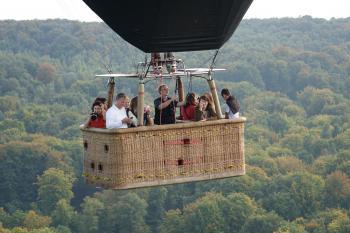 Vol en montgolfière en Montagne de Reims ©PNRMR